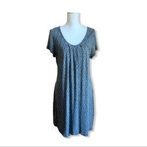 Women's Casual Blue Sun Dress XL